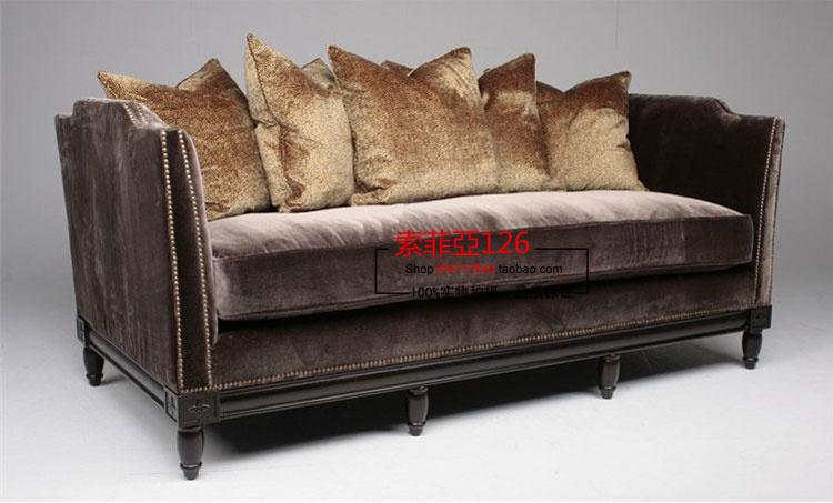 Online Kaufen Gro Handel Braunem Samt Sofa Aus China Braunem Samt Sofa Gro H Ndler