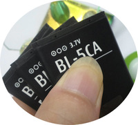 Free shipping Retail BL-5CA battery for NOKIA 1100 1101 1108 1112 1116 1200 1208 1209 1255 1315 1600 1650 1680C 2100 2112
