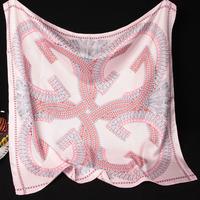 90*90cm 202026 2014 Newest women's Silk Square scarf, Heavy SIlk twill Square silk Scarves 100% Silk scarf Free Shipping