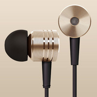 Original Gold XIAOMI Piston Headphone Xiaomi Headset With Remote& Mic For XIAOMI Hongmi Note,M3,M2S phone With Retail Package
