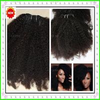 Top quality 6A Virgin Mongolian kinky curly  ,113g/pc, Top quality  unprocessed afro kinky curly hair