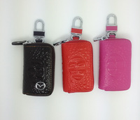 811959 Good leather key bag for car universal type popular model key bag leather  TOP quality cowhide free shipping