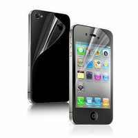 For Apple iPhone 4 4S Premium HD Clear Screen Protector Film 1-Pack(Front+Back) Retail Packaging Free Shipping
