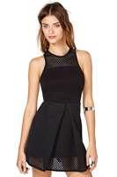 MC17982  New Arrival Free Shipping M,L Size High Street Graceful Sleeveless Vintage Black Summer Casual Mini Dress