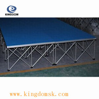 Hot sale Fast aluminum outdoor fold stage 1m*1m or 1.2*1.2m stage for Performance project