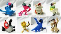 Wholesale 8pcs/set Cute Cartoon The Movie Rio 2 Blu Jewel PVC Action Figure Model Toys Dolls Baby Toys Christmas Gifts 5set/Lot