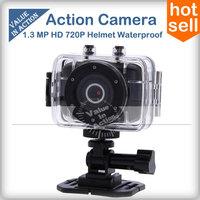 Action Camera Cam 720P HD Video 20M Waterproof  Helmet Digital Sport Camera Professional mini camcorders Filmadora PK gopro