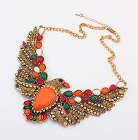 YXSP180      2014 new fashion   Retro personality Eagle    necklace for women