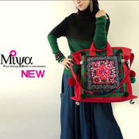 Bolsas Femininas 2014 Chinese Traditiona Folk Pure Handmade Embroidery Painted Sails Woman Shoulder Bag Handbag , High Quality !