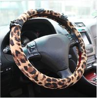 New summer fashion leopard auto car steering wheel cover Korea Four Seasons General Women's handlebar sets