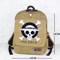 1PCS Luffy ONE PIECE anime casual skull shoulder bag / Backpack Shoulders Messenger laptop Computer backpack bag school bag