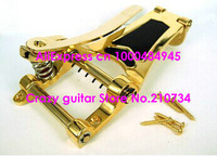 wholesale- Gold Vibrato Tremolo Bridge for Archtop Hollow Semi Hollow Jazz Guitar