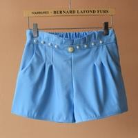 Free Shipping 2014 summer  Slim thin wild female casual pants Cross pant shorts shorts