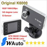 "Car Dvr FHD 1080P 2.7"" HD Screen+ 25FPS+G-Sensor+Night Vision+140 Wide Angle Lens Car Video Record K6000"