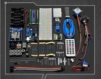 UNO R3 Starter Kit Step Motor Servo 1602 LCD Breadboard LED Resistor For Arduino