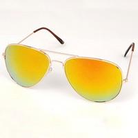 2014  New Fashion Sunglasses Reflective Film Simple Design Alloy  Glasses sunglasses men