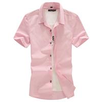 fat size  summer plus size men's clothing plus size shirt 6xl plus size  100% pure cotton short-sleeve shirt  XL-6XL