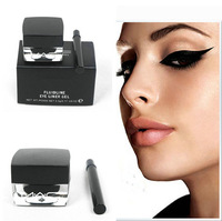 wholesale 2014 hotsale brand new eyeliner gel eyes makeup 2 pcs/lot