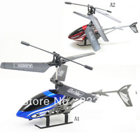 YKFree shipping Mini 2.5CH Remote Control Airplane  Easy Fly LED Light Shatterproof T0201 T