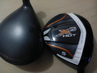 New 2 pcs X2 HOT Fairway Woods #3,#5,Graphite Shaft Regular/Stiff Flex Golf Clubs free shipping