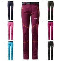 hiking pants 2014 new  women outdoors sports softshell casual elastic quick-drying mammoth trousers windstopper Cycling pants