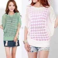 summer batwing mesh top womens blouses womens tops,thin woman sweaters sunscreen,tshirts cotton women,blusas plus size feminina