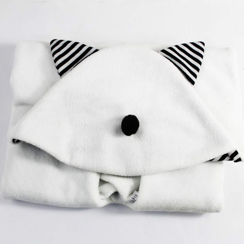[해외]핫 세일 흰색 아기 Parisarc면 단단히 싸는 랩 신생아 담요..
