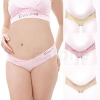 Free Shipping New Fashion Pregnancy Cozy Lingerie Panties Briefs Maternity Underwear Low Waist