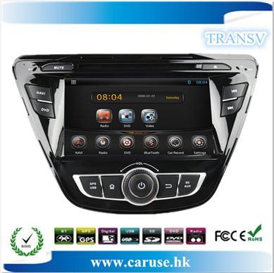 Copa do Mundo 2014 ! 8 polegadas tela capacitiva Android Pure jogador de DVD do carro para Hyundai Elantra 2014 GPS + IPOD + BT , 4gb livre dom cartão mapa(China (Mainland))