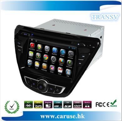 Copa do mundo de dvd do carro para Hyundai Elantra 2014 tela capacitiva Pure Android + GPS + dual core + IPOD + BT + wifi + free 4 gb mapa cartão(China (Mainland))