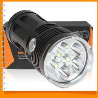 SALE!! Securitylng 8000 Lumen Super Bright LED Flashlight Torch Waterproof 6 x CREE XML T6 LED Flash Light Self-defense 3 Mode
