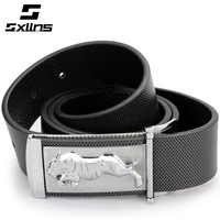 Sxllns Genuine Leather Strap For Men 2014 First Layer of Cowhide Belt Male Zodiac Brand Belts Free Shipping
