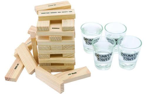 Drinking Game Toy Blocks
