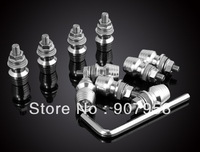 "Hot ! 10 PCS Windshield Windscreen Bolts Screw Fit for "" H "" Suzuki Yamaha Kawasaki Ducati Silver"