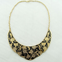Fashion vintage retro statement brand collar choker necklace pendant for women free shipping 2014