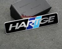 New arrive for HARTGE aluminum 3D Badge Emblem car sticker  good quality