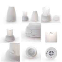 UH-008 Ultrasonic Sterilize Aromatherapy Humidifier with three pieces LED lamps