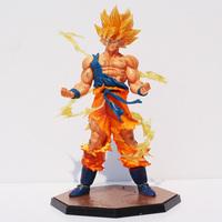 Free Shipping 1pc 17cm Dragon Ball Z Super Saiyan Goku Son Gokou Boxed PVC Action Figure Model Collection Toy Gift