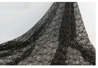Free shipping   Embroidered lace fabric / fashion dress skirt fabric / wedding shawl  Width is 150cm