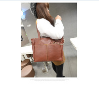 2014  latest spring fashion wild shoulder bag New Women Leather Handbag Women Genuine bag women fashion handbags popular bags.