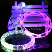 Acrylic flash bracelet glow bracelets luminous accessories shiny hand ring light-up toy props