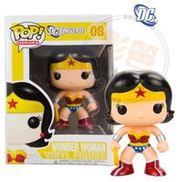 Free shipping 2014 new  funko pop DC Comics hero series Wonder Woman doll