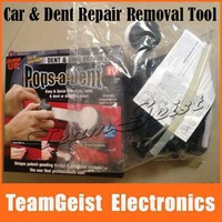1sets Pops a Dent Car Dent Repair Removal Tool Glue Gun DIY Car dent & Ding repair Kit As Seen On TV retai box Free Shipping