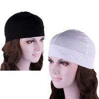 2014 Fashion For Women Dome Skull Elastic Caps Men Cotton Black/White Biker Football Helmet Liner Sports Beanie drop shipping