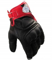 Fashion Star A Star Cotton Carbon leather slip drop resistance riding racing full finger gloves motobike gloves