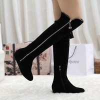 Free shipping!Women shoes size 34-39(cn),2014 fashion ladies boots Tall decorative tassels,Genuine leather Knight boots