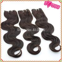 Unprocessed virgin peruvian hair Free shipping 5A Honey blonde peruvian hair color 2 tones peruvian human hair weave 1pcs/lots