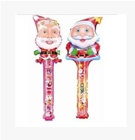Inflatable toys blow stick up stick cartoon blow bar inflatable rods advertising and promotion Santa Claus