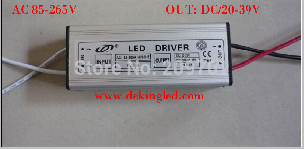 2014 hot sale promotion 4pcs/lot 10 Series 3 parallel 30W driver for Road spotlight LED Light 900MA Waterproof level IP66(China (Mainland))