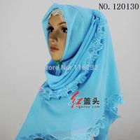 2014 free shipping muslim Islamic Bali yarn Hot drilling headscarf abaya wome hat hijab bandanas turban with wholesale 12pcs/lot